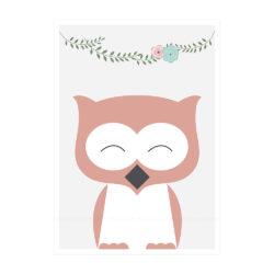 owl light flowers